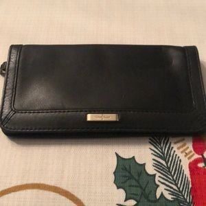 Cole haan wallet black leather